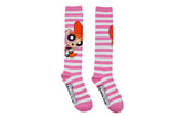 Powerpuff Girls Blossom Rugby Knee High Socks