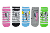 Rugby 5 Pair Pack of Lowcut Socks
