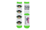 Powerpuff Girls Buttercup Crew Socks