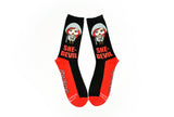 Red Sonja She-Devil Crew Socks