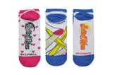 Luna 3 Pair Pack of Lowcut Socks