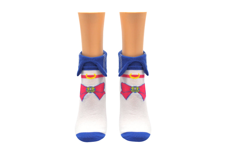 Sailor Moon Cosplay Collar Lowcut Socks