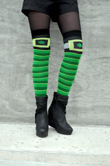 Everything Legwear St. Patrick's Day Over The Knee Ladies Socks