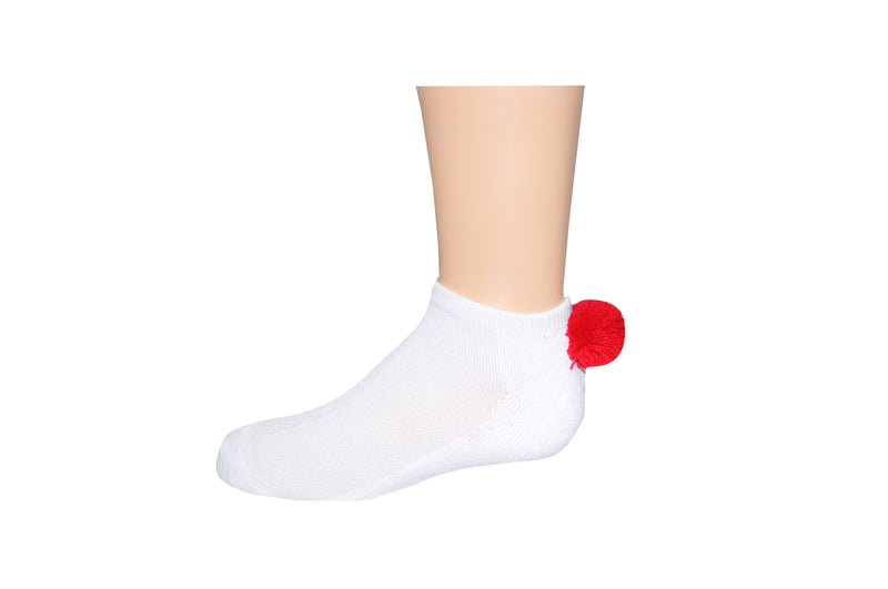 SOCK HOUSE CO. Youth Lowcut Pom-Pom Socks