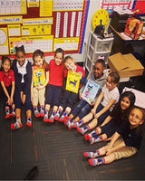 Pete the Cat Kids Pete in His Shoes Crew Socks