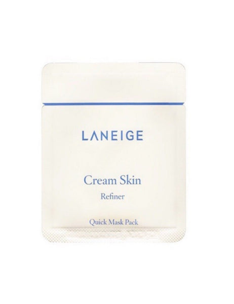 Cream Skin Refiner Quick Mask Pack