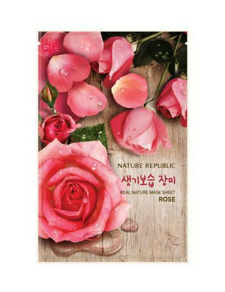 Nature Republic Real Nature Sheet Mask Rose