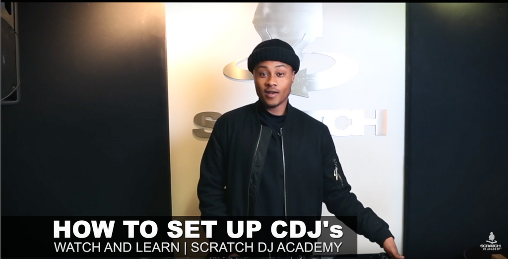 HOW TO SET UP A PAIR OF CDJS | SCRATCH DJ ACADEMY | WATCH AND LEARN