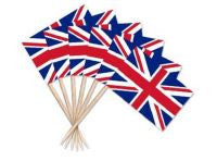 Union Jack Toothpicks 100