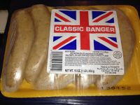 Classic Pork Bangers (sausages)