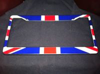 Car License Plate Holder Union Jack