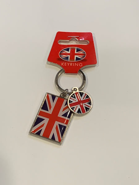 Key ring - Union Jack