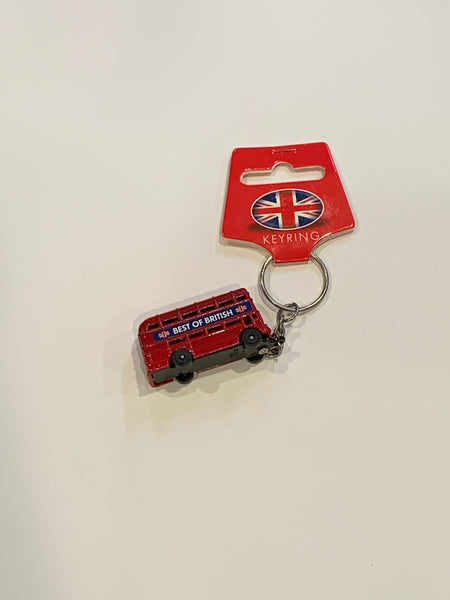 Key ring- Double Decker Bus