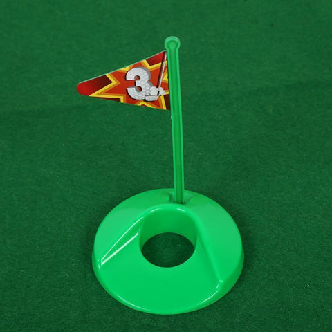 Image of Potty Putter Toilet Putting Mat Golf Game for Bathroom