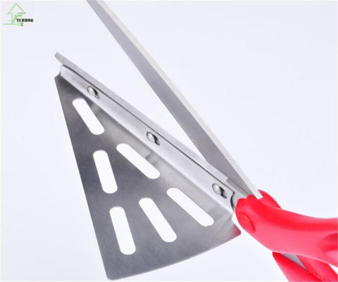 Image of Pizza cutter and scissor