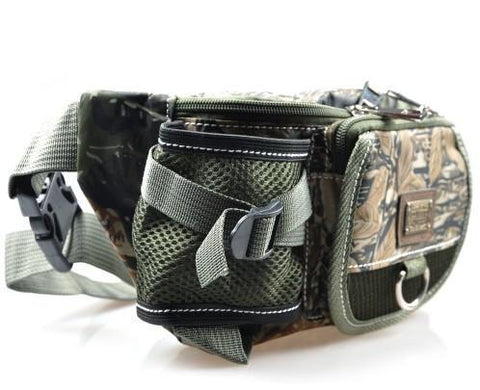 Image of Multifunctional Outdoor Fishing Tackle Waterproof Waist Bag