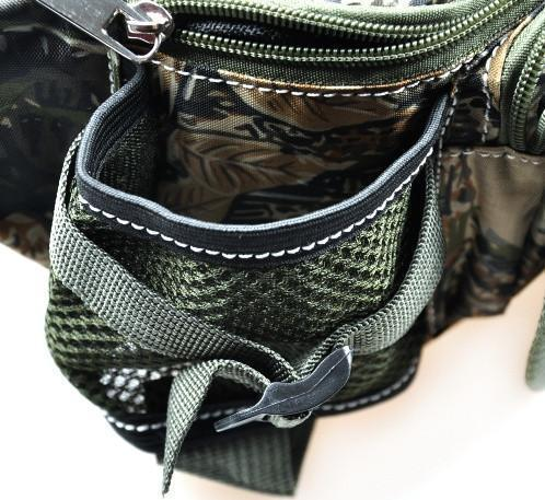 Multifunctional Outdoor Fishing Tackle Waterproof Waist Bag