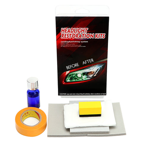 Headlight Restorstion Kit Anti-scratch