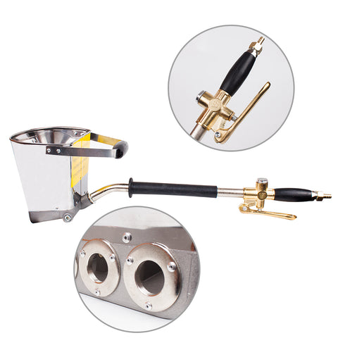 FAST EFFICIENT WALL MORTAR CEMENT SPRAY GUN