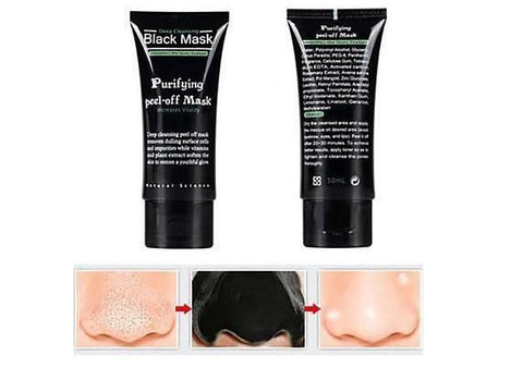 Image of Purifying Deep Cleansing Peel-off Black Mask
