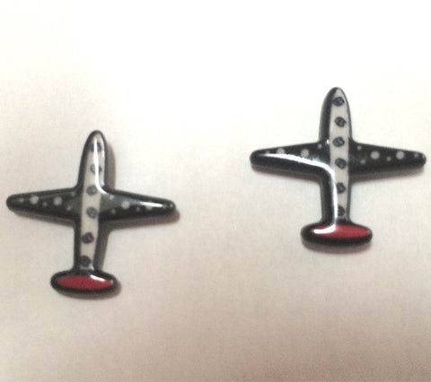 Black and White and Red Tail Airplane - Posts