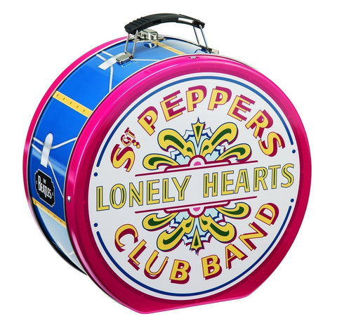The Beatles: Sgt. Pepper's Shaped Tin Tote