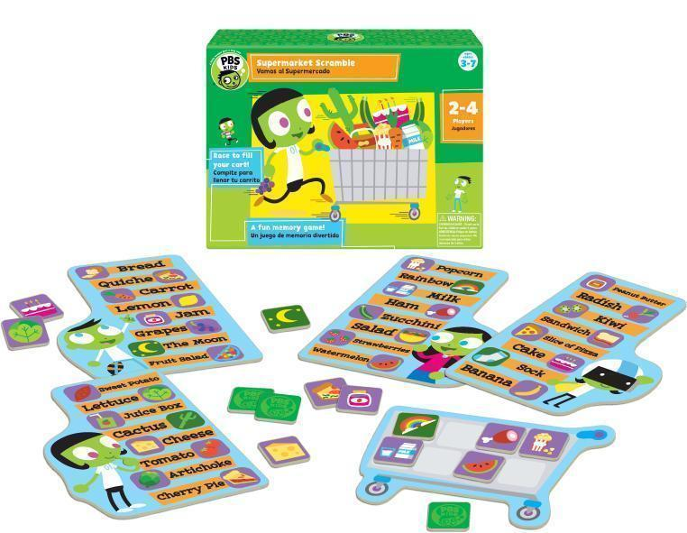 PBS Kids: Supermarket Scramble
