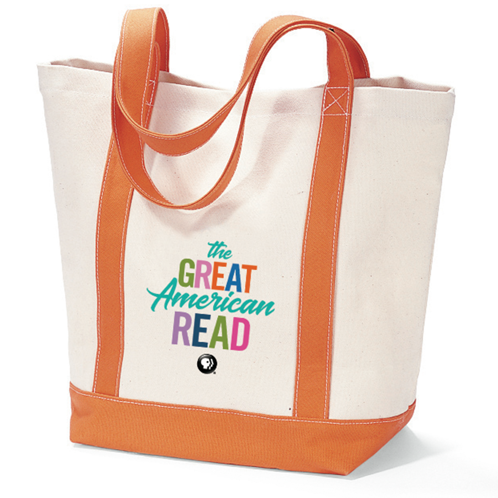 The Great American Read Boat Tote