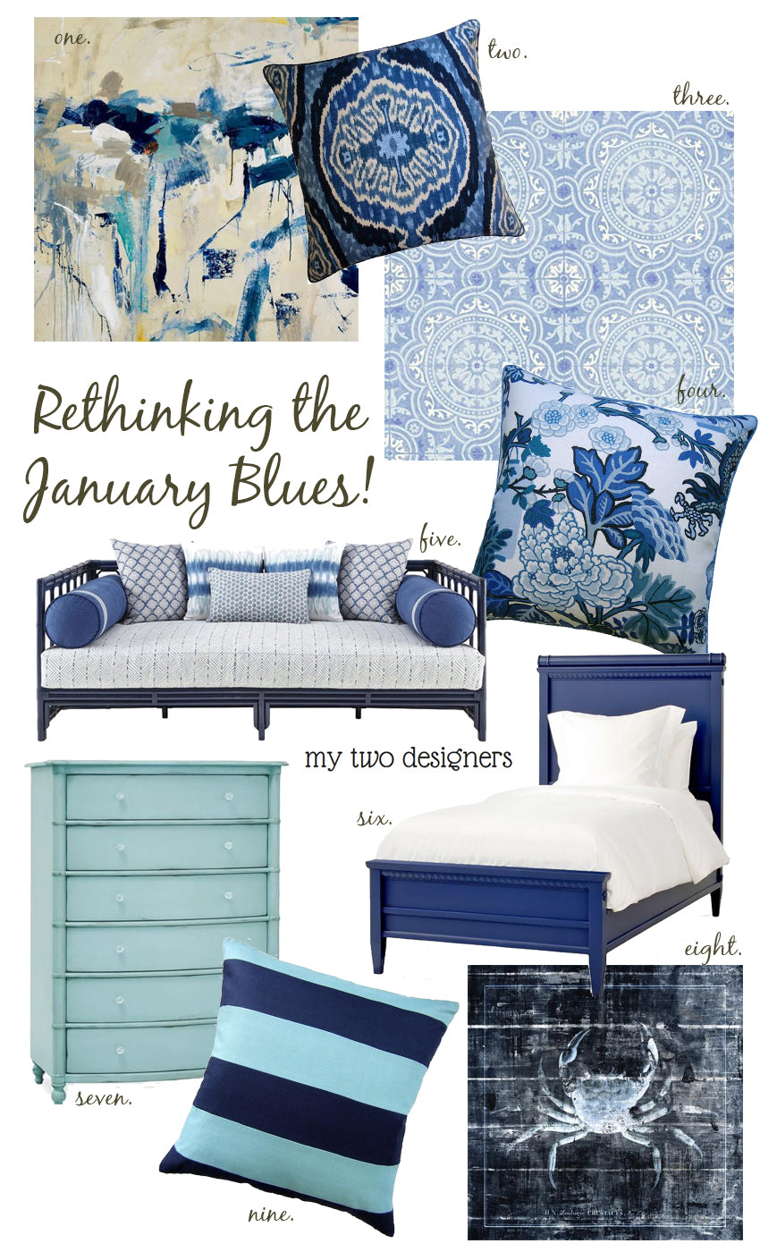 Rethink the January Blues with My Two Designers