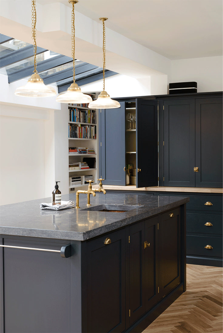 deVOL kitchen in deep blue