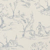 Clarke & Clarke Fabric by the Yard:  Helena in Wedgewood