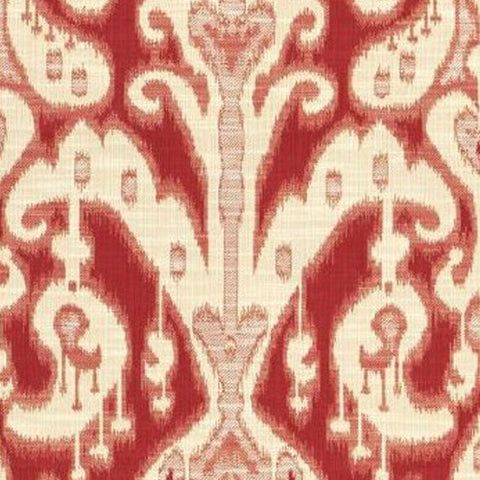 Kravet Fabric by the Yard:  Ikat Gigi in Sangria