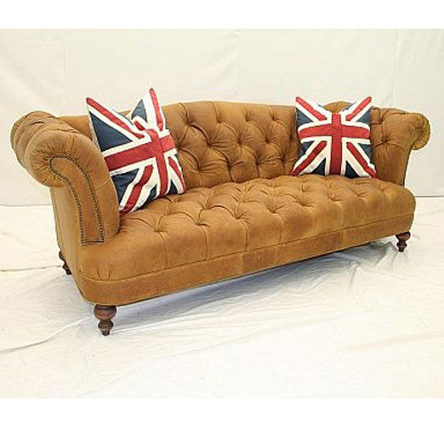 Old Hickory Tannery Borough Sofa In Toffee