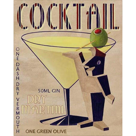 Art Classics Ltd. Cocktail Art III