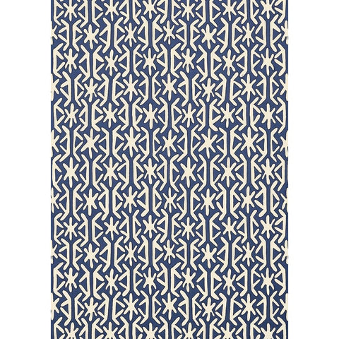 Rinca Wallpaper in Navy