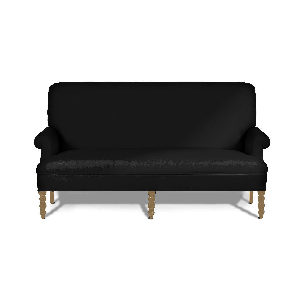 Kravet Stoli Settee In Midnight