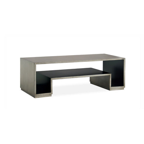 Redford House Holden Coffee Table in Shell Grey