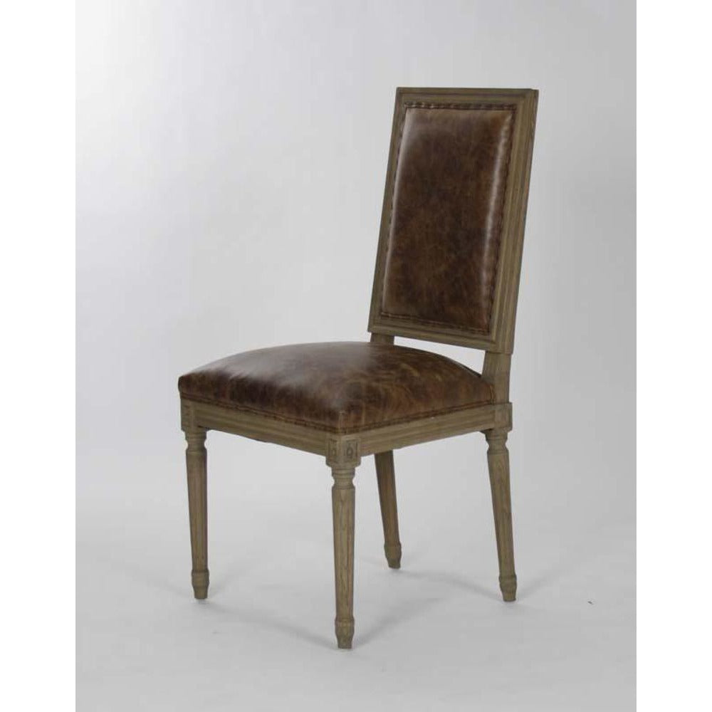 Zentique Louis Side Chair in Tobacco