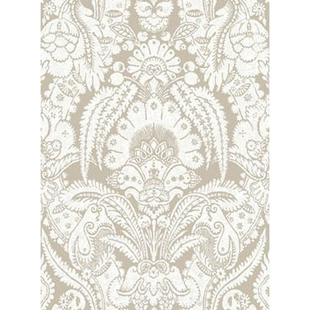 Cole And Son Chatterton Wallpaper in Linen