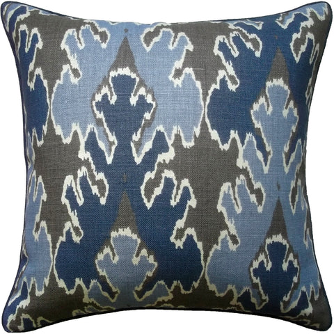 Ryan Studio Bengal Bazaar Pillow in Indigo