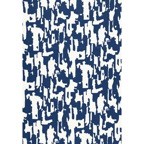 Fabric by the Yard:  Beauty Bark Print in Ocean