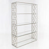 Worlds Away Hays Etagere in Silver