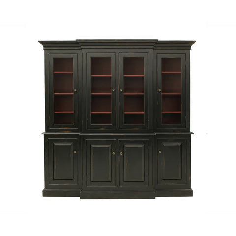 Redford House Livingston Hutch in Black