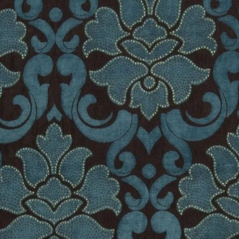 Clarke & Clarke Fabric by the Yard Baroque Peacock