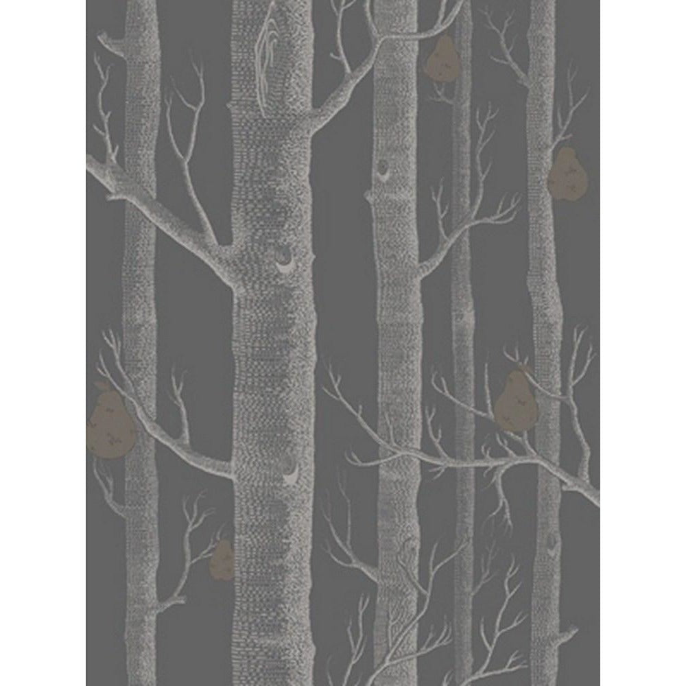 Cole And Son Woods & Pears Wallpaper in Charcoal