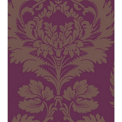 Cole And Son Hovingham Wallpaper in Plum