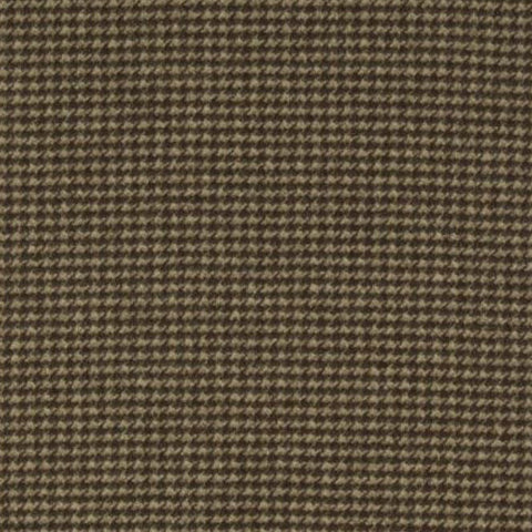 Clarke & Clarke Fabric by the Yard:  Houndstooth Check in Chocolate