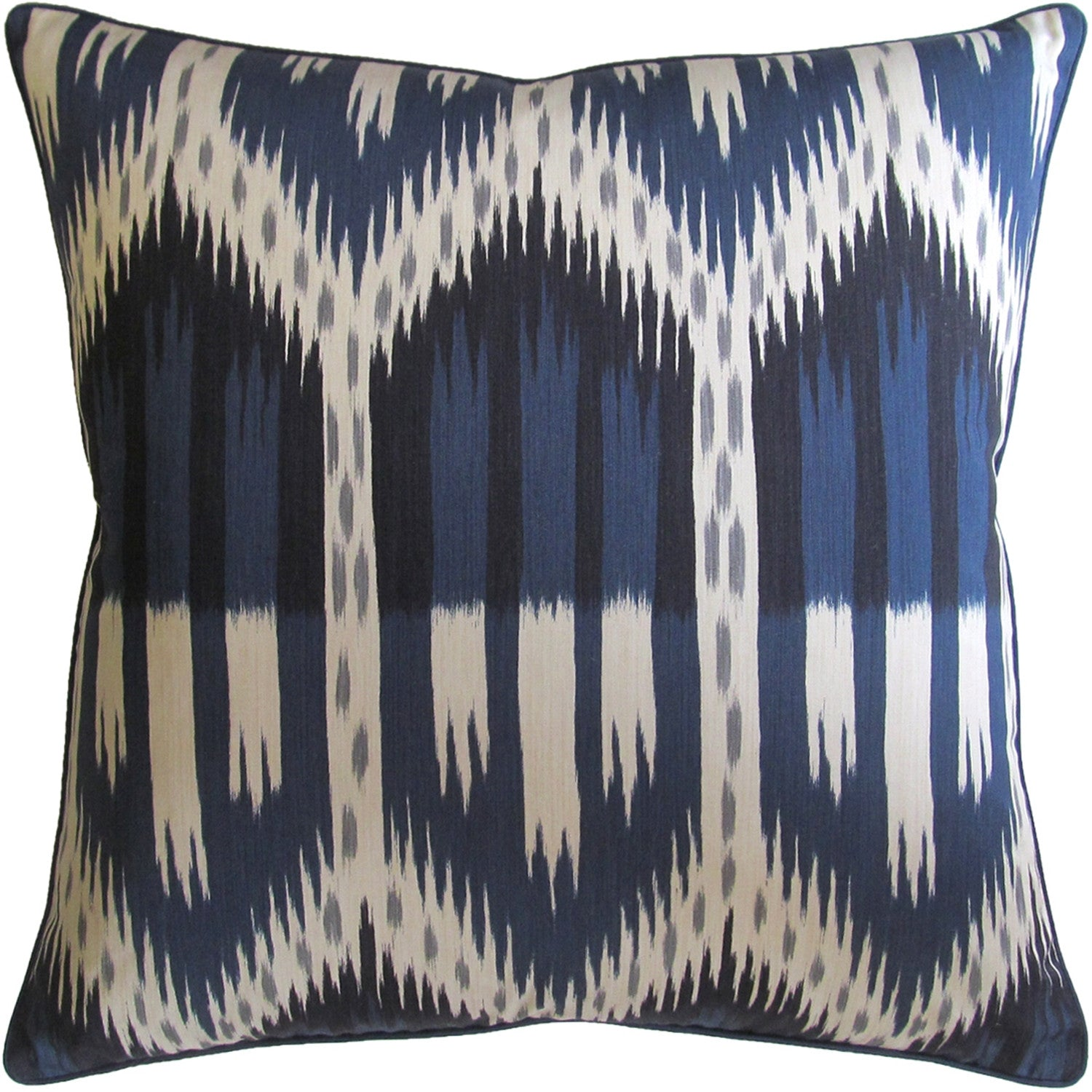 Ryan Studio Bukhara Ikat Pillow in Indigo