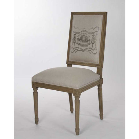 Zentique Louis Side Chair in Emblem