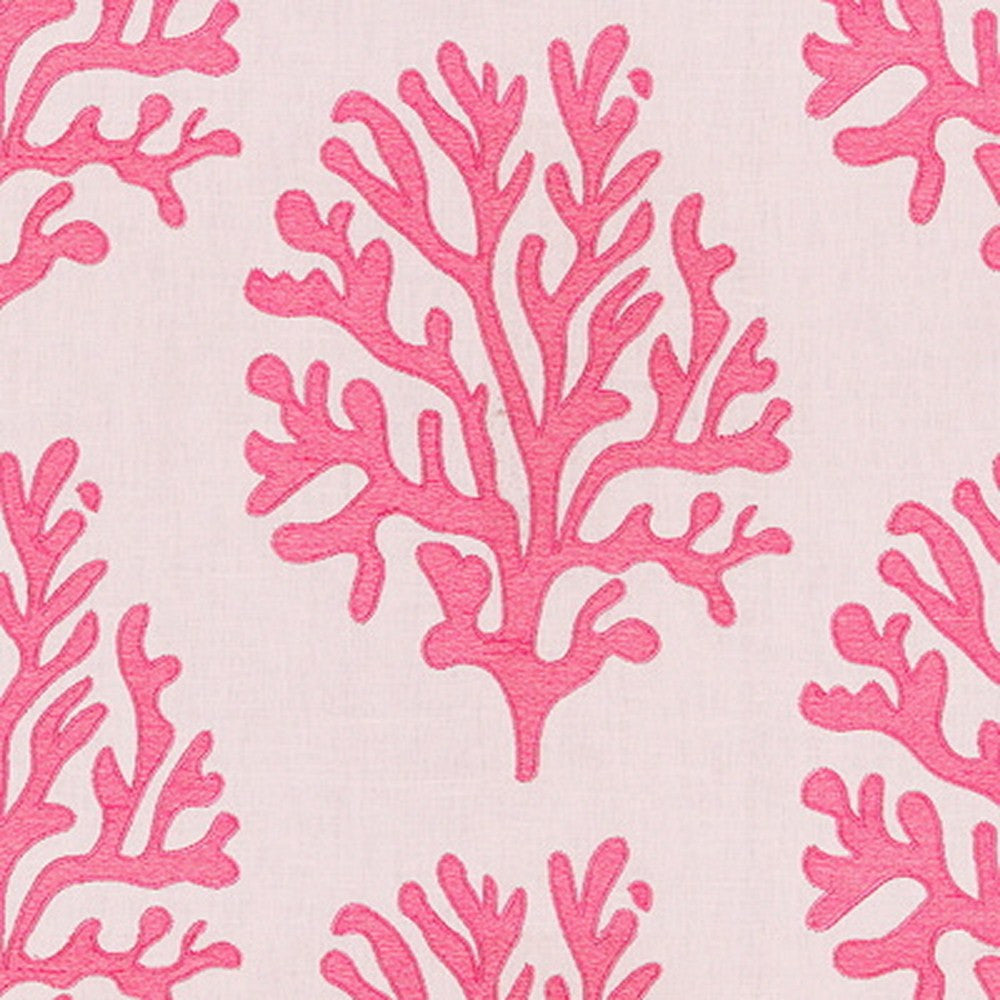Kravet Fabric by the Yard:  Seafan in Hibiscus